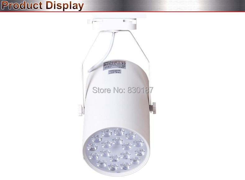 20 шт./лот светодиод для трекового светильника 7 Вт 770LM 3000 K 4000 K 110 V 220 V настенный управляемый светильник Точечный светодиодный рельсовый светильник магазин освещения