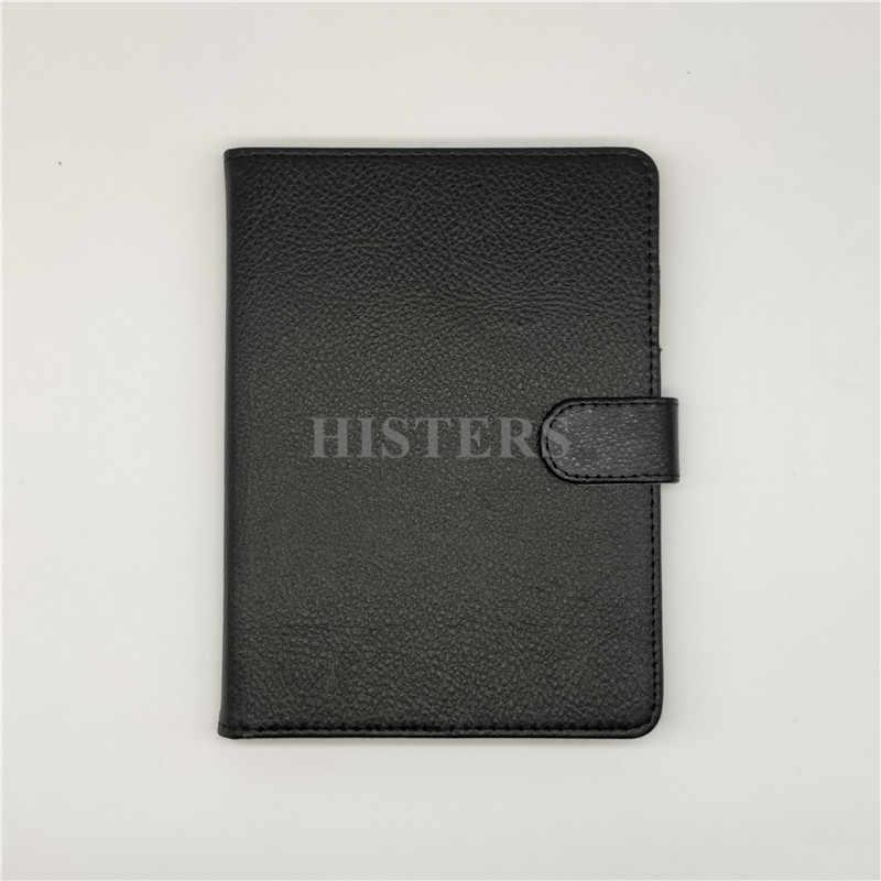 HISTERS breve cubierta protectora para libro de 6 pulgadas eBook PocketBook 622 eReader táctil Funda magnética Funda Capa