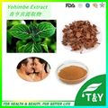 All flavors pure fast speed yohimbe bark extract from india 400g/lot