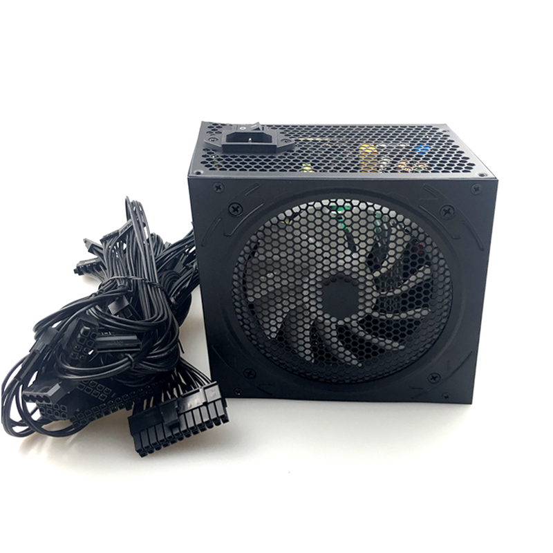 700W PC PSU Power Supply Black Gaming Quiet 120mm Fan 24pin 12V ATX 24pin New computer Power Supply For Desktop game gaming PSU 700W PC PSU Power Supply Black Gaming Quiet 120mm Fan 24pin 12V ATX 24pin New computer Power Supply For Desktop game gaming PSU