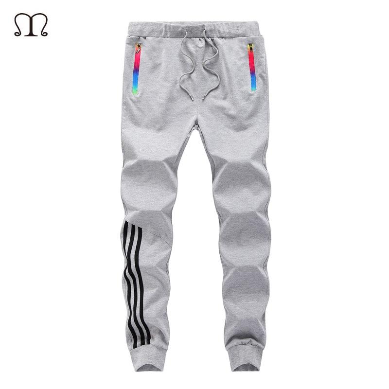 Frühling Casual Men Sweat Pants Männliche Baumwolle Sportswear - Herrenbekleidung - Foto 3