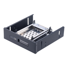 Uneatop ST5514B Single Bay 2.5 inch SATA HDD/SSD Mobile Rack Enclosure Black Door