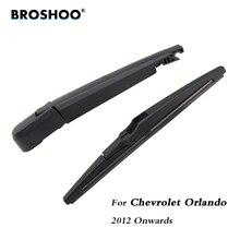 BROSHOO Car Rear Wiper Blade Blades Back Windscreen Wiper Arm For Chevrolet Orlando Hatchback (2012-) 260mm Auto Styling