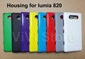 Nueva cubierta original para nokia lumia 820, cubierta de batería original para nokia lumia 820 tapa trasera con botón lateral