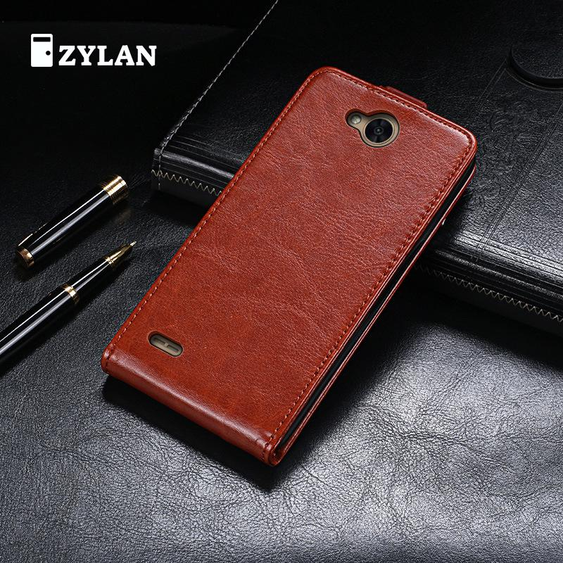ZYLAN Flip Leather Case For LG X Power 2 Power2 M320 M320n M 320 Embossed Flip Phone Cover TPU Leather Case /w FREE GIFT