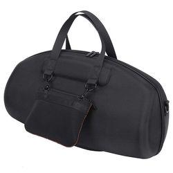 Para jbl boombox portátil bluetooth alto-falante à prova dhard água caso duro carry saco caixa de proteção (preto)