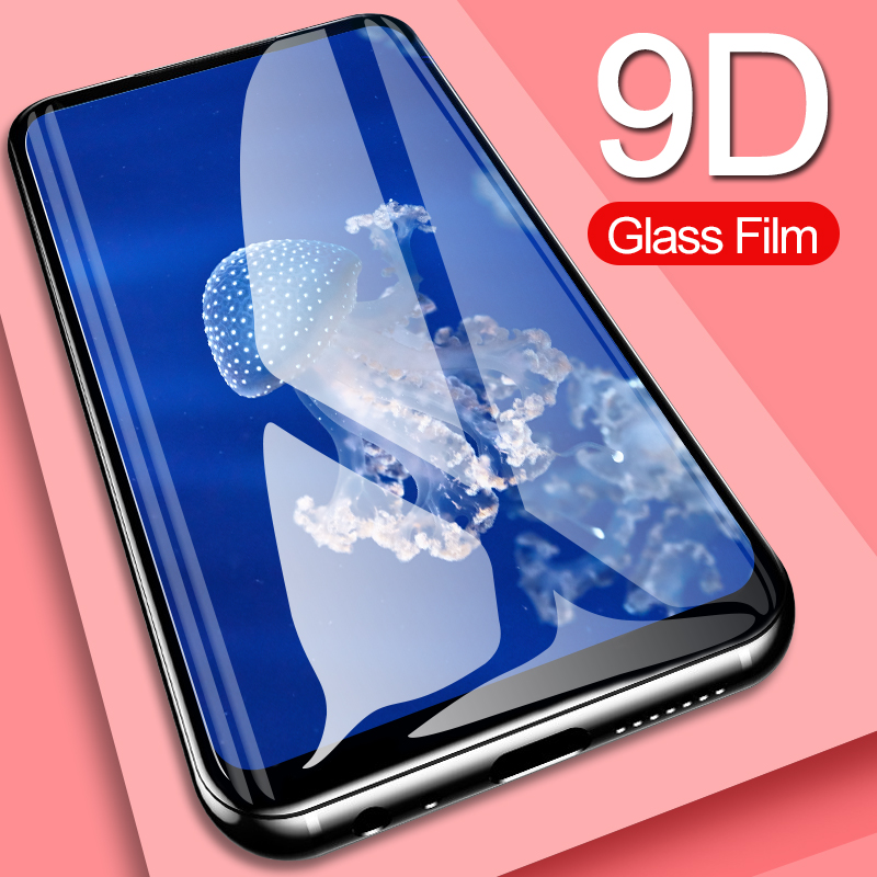 Tempered Glass For Meizu M3 MAX 15 Lite Plus Colorful Full Cover Tempered Glass Film For Meizu Pro7 Plus V8 Case Protective Film