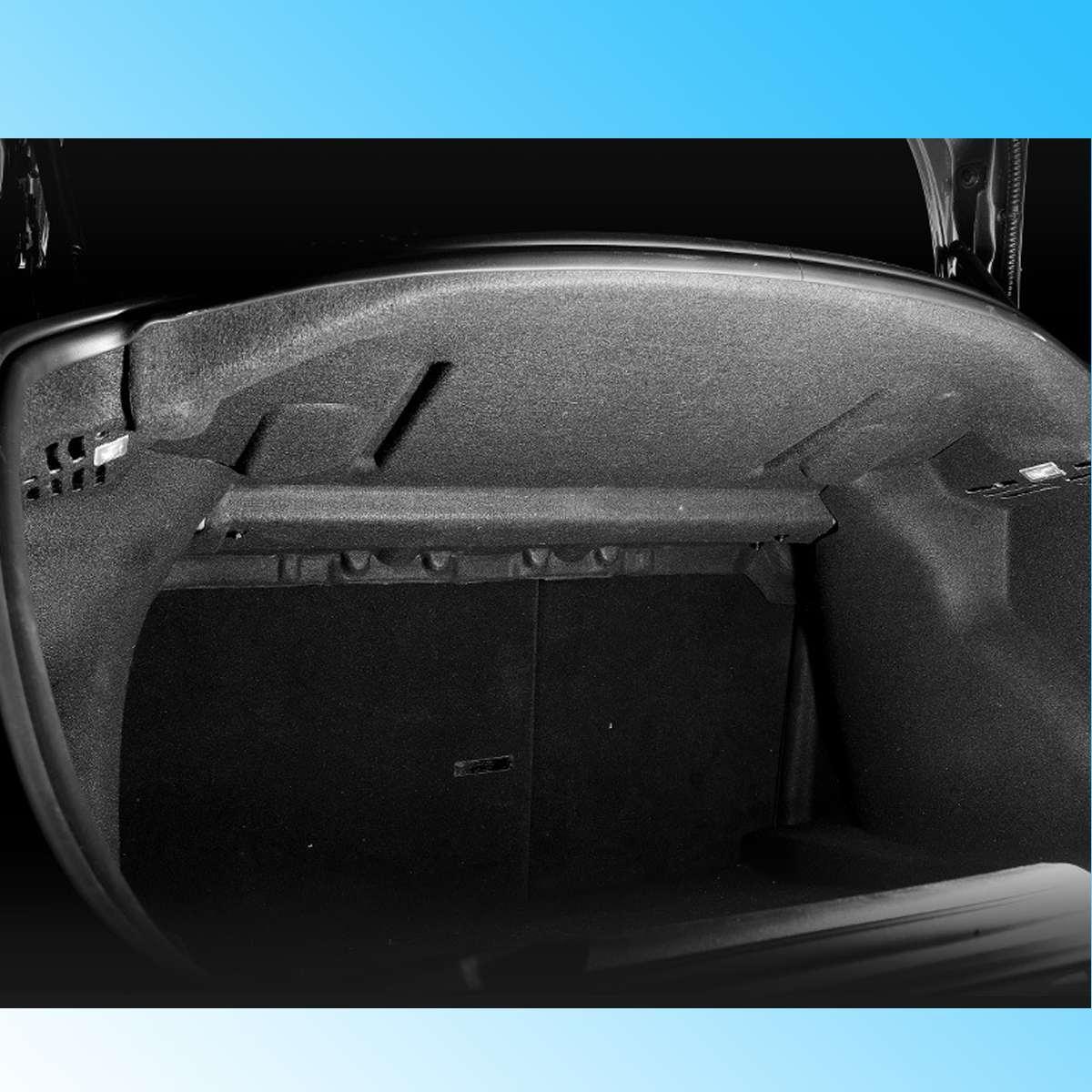 Nouveau tapis de protection insonorisé en coton pour coffre arrière pour voiture Tesla modèle 3 - 5
