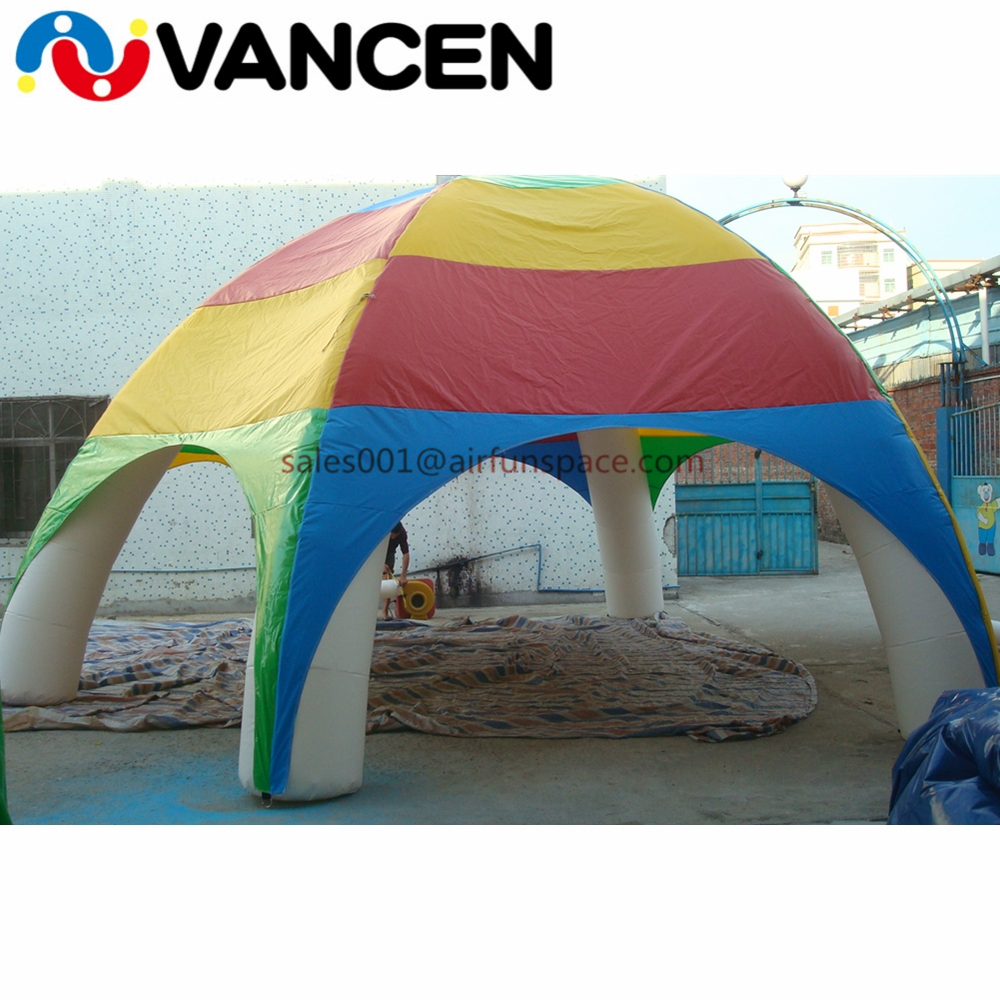 inflatable spider tent05