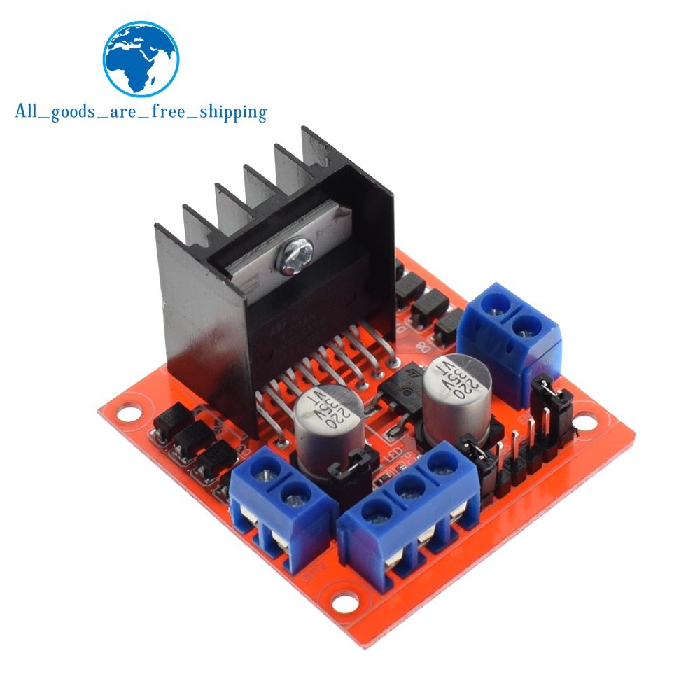 L298 H-BRIDGE DUAL BIDIRECTIONAL MOTOR DRIVERS FOR WINDOWS