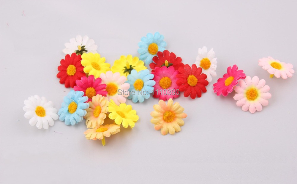 Free Shipping 7 Cm Silk Flower Christmas Diy Crafts Handmade Flowers Clothing Decorative Hair Pin Brooch Accessories