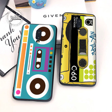 Coque For Case Oneplus 6T 7 Black Cover Soft Silicone for Phone retro Radio Cases 1+6T Capa
