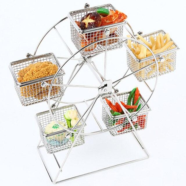 Neue 1 Stucke Lebensmittel Rack 5 Tasse Riesenrad Geschirr