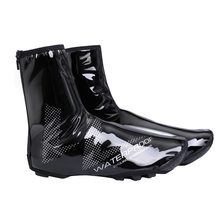 2018 New Waterproof Reflective Cycling Shoe Covers Thermal Windproof Bicycle Overshoes MTB Road Bike Rainproof Sneaker Cover(China)