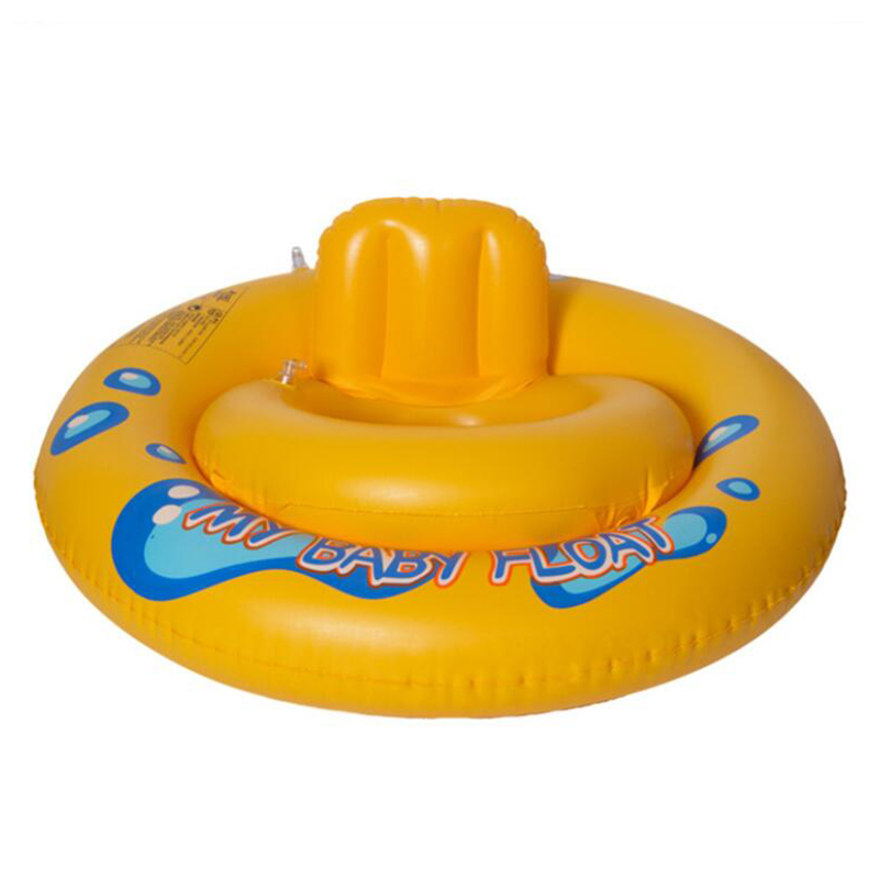 Inflatable Rubber Ring For Swimming Horn Seat Float Swimming Pool Accessories Cute Swim Ring