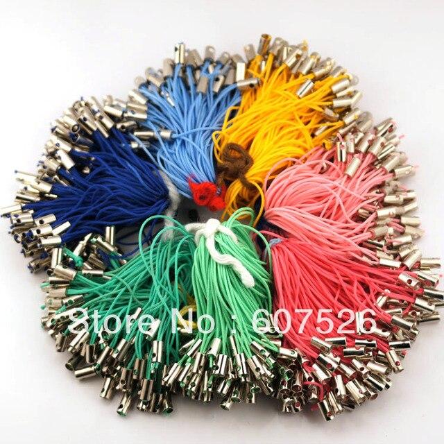 JLB 5cm 500pcs Hot sale Fashion Cell Phone Moblie Chain Straps Charm Cords DIY MP3/4 U flash materials accessories Free Shipping
