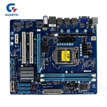 Gigabyte GA-H55M-S2 100% Original Motherboard LGA 1156 DDR3 8GB H55 S2 H55M-S2 Desktop Mainboard Mother board Used i7 i5 i3 недорго, оригинальная цена