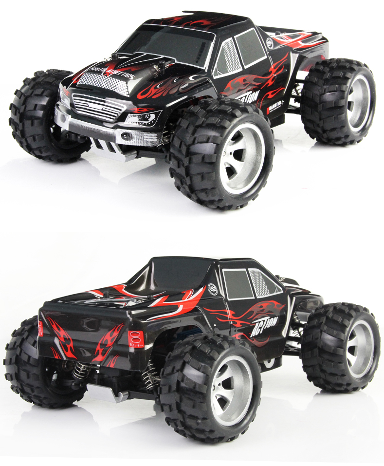 A979 RC Car 4WD High Speed Electric Car 2.4G 1:18  4WD  Remote Control Vehicle 50KM/H  free shipping