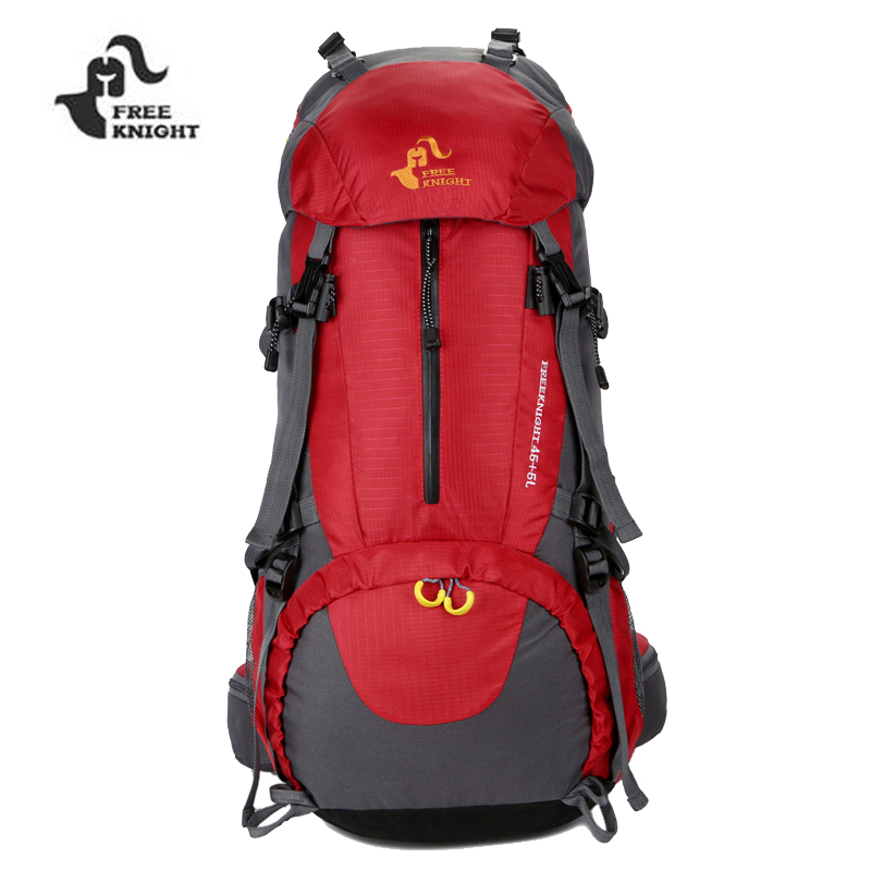 2018 Top Quality 50L Sport Bag Backpack Outdoor Climbing Rucksack Waterproof Mountaineering Hiking Backpacks Molle Camping Bag 40l outdoor tactical backpack camping bag waterproof mountaineering hiking backpacks molle sport bag climbing rucksack