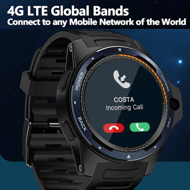 Voorverkoop Zeblaze THOR 5 4G Smart Horloge telefoon 8MP Camera Dual Systeem GPS 1.39 ''2 GB + 16GB Hartslagmeter Mannen Vrouwen Smartwatch-in Smart watches van Consumentenelektronica op  Groep 1