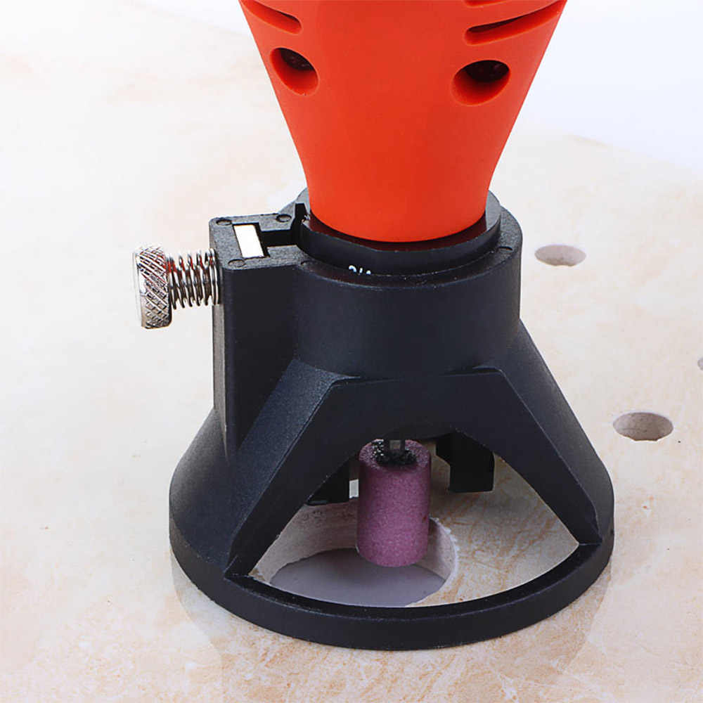 Electric Grinder Locator Professional Drill Grindering & Polishing Positioner Retainer Rotary Tool Accessory
