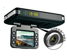 Car Detector STR8500 Russian version 2.0″LCD 3 in1 Radar detector Car DVR Camera HD 720P 140 Degree View Angel GPS Logger