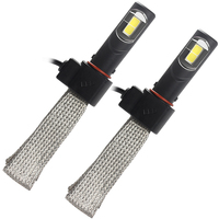 Conversion Kit H4 36W Each Bulb Super Bright LED Headlight 4000LM Car Styling 6000K Aluminum Alloy