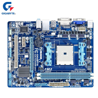 Gigabyte Motherboard GA F2A55M DS2 Original DDR3 Desktop Mainboard Boards F2A55M DS2 Socket FM2 A55 64GB Systemboard Boards Used