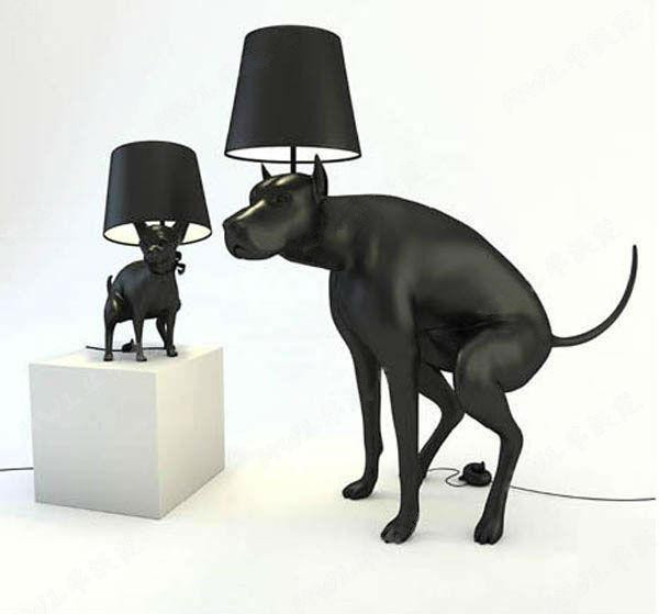 Unique Bedroom Lamps resin dog poo hall bedroom lamp modern office unique creative