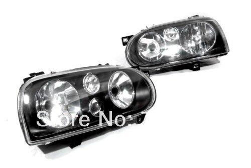MK4 Style Smoke Headlight For Volkswagen For VW Golf MK3