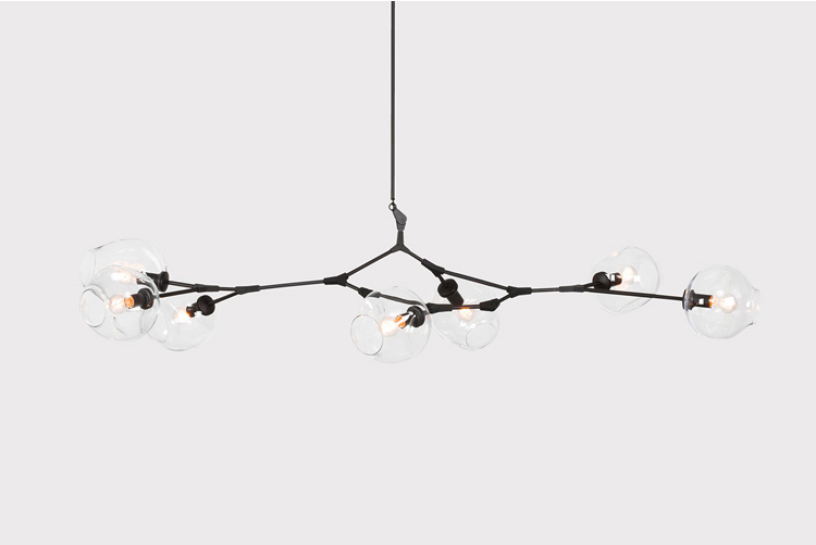 Lindsey Adelman Globe Branching Bubble Chandelier Modern Chandelier Light Lighting Included LED Dimmable Bulbs +Free shipping! roll hill agnes chandelier modern chandelier 14 head chandelier light lighting design by lindsey adams adelman