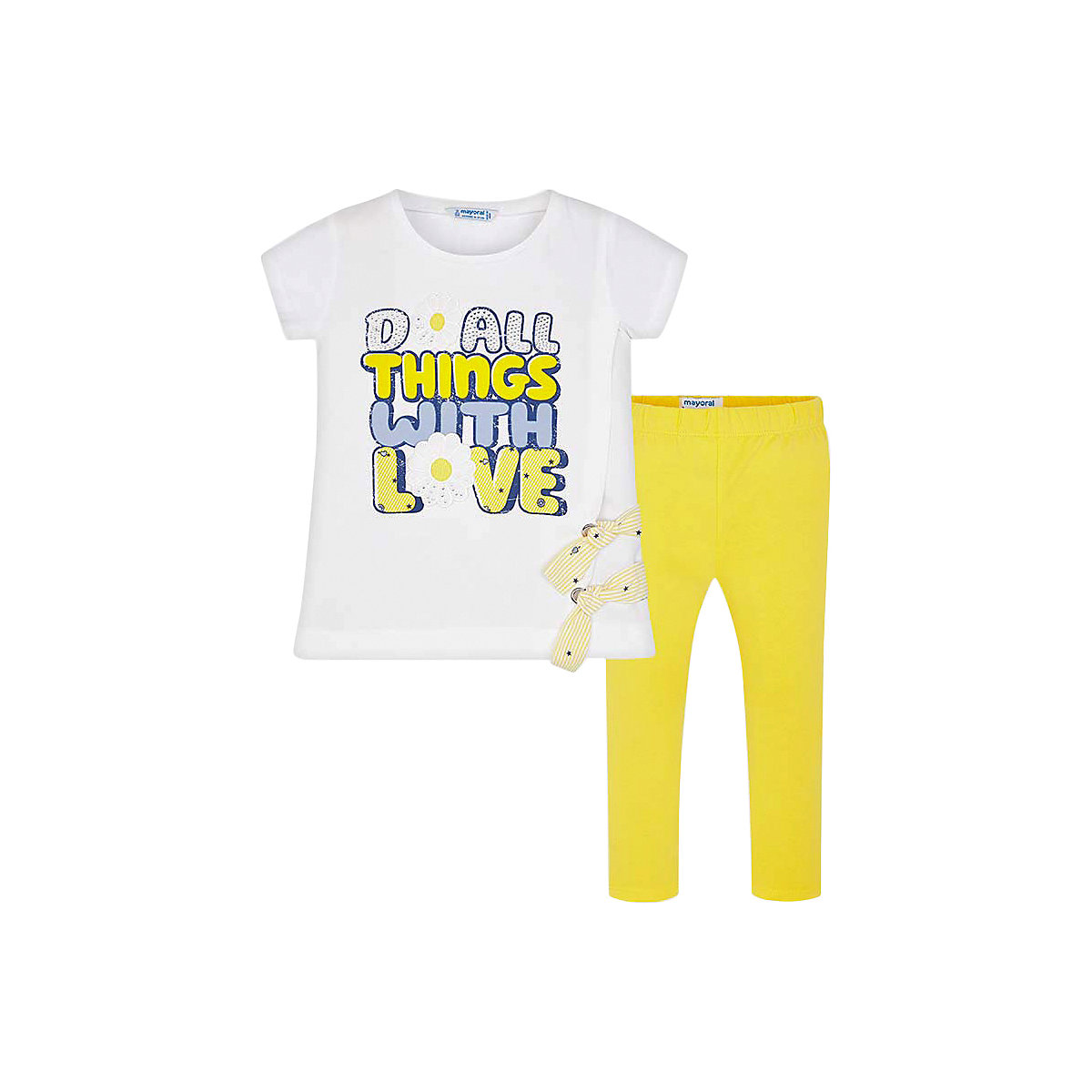 Baby's Sets MAYORAL 10688178 Set Of Clothes For Kids T-shirt Legs Shirt Shorts Girls And Boys