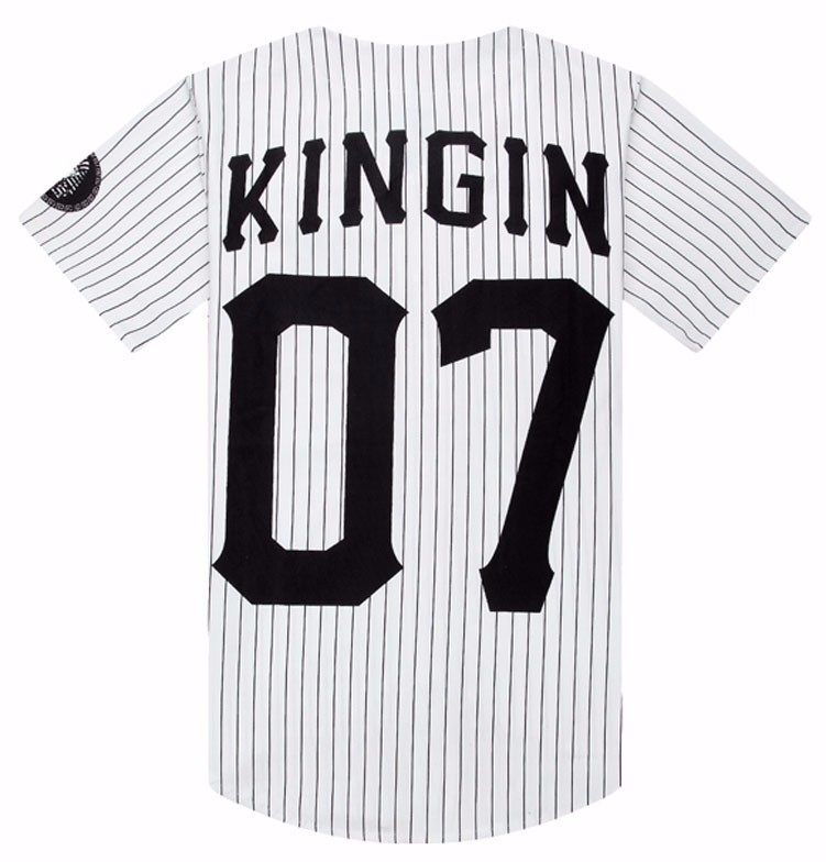 92dfac4e New Summer Style Mens T shirts Fashion 2019 Streetwear Hip Hop baseball  jersey striped shirt Men Clothes tyga M XXL-in T-Shirts from Men's Clothing  on ...