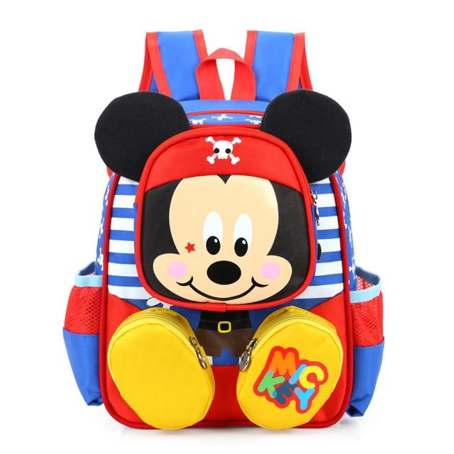 New 2017 Fashion Children School Bags Cartoon Minnie Kid Bag Mickey Backpacks  Kindergarten Preschool Backpack Kids ce691201e5548