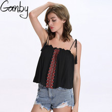 Summer new Lady Sling Tank Sleeveless V-Neckline Backless Clothing Lady Sexy Chiffon Bra strap vest Dual halter tops