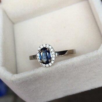 Luxury Spinel Stone 925 Silver Ring for Women Men Love Gift Elegant Costume Jewelry Love Wedding Sapphire Rings