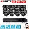 1 0MP 720P HD Indoor Surveillance Security Camera System 8 Channel 1080N 1080P HDMI CCTV DVR