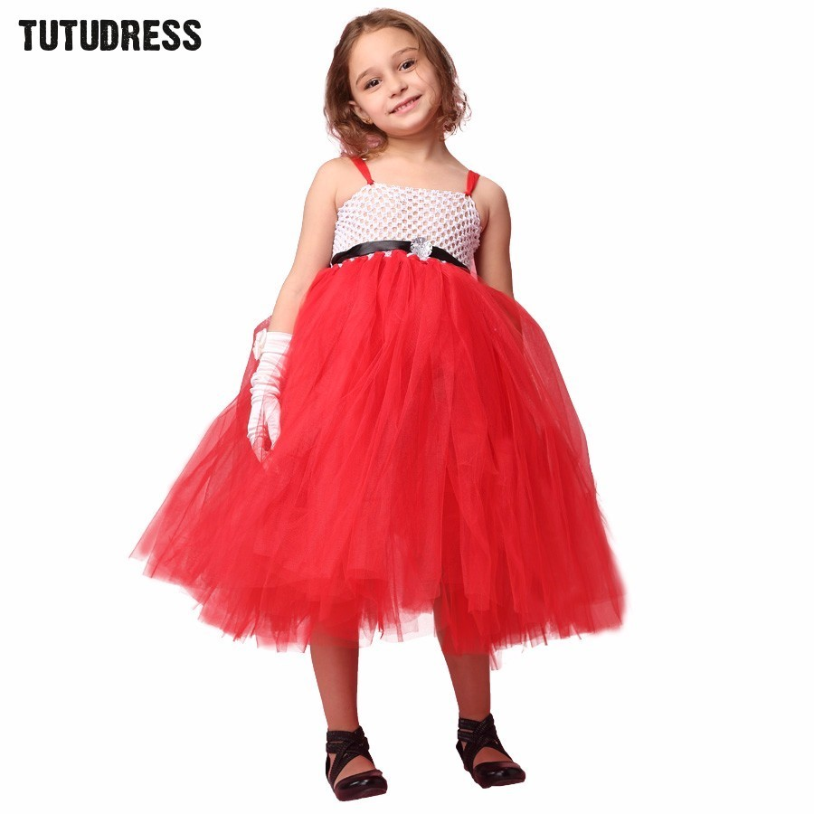 High Quality Girls Red Christmas Dress-Buy Cheap Girls Red ...