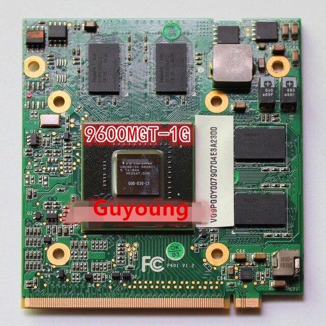 9600MGT 9600M GT MXM II DDR2 1024MB VGA Card G96-630-C1 G96-600-C1 VG.9PG06.009 For Acer