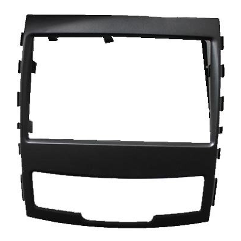 Free shipping car refitting dvd frame/front bezel/audio panel for SSang Yong 2010 Korando