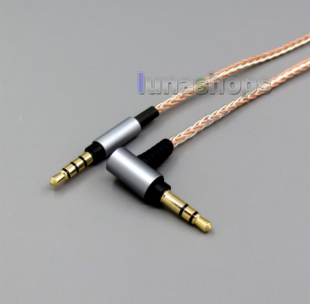 8 Cores Cable For MUC-S12SM1 MSR5 Denon MM400 Sony MSR7 MDR-1A SR5 SHB8800 SHB9500 sony mdr 1a черный