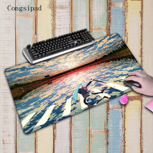 Congsipad Clouds Hatsune Miku Anime Mouse Pad Large Pad Laptop Mouse No