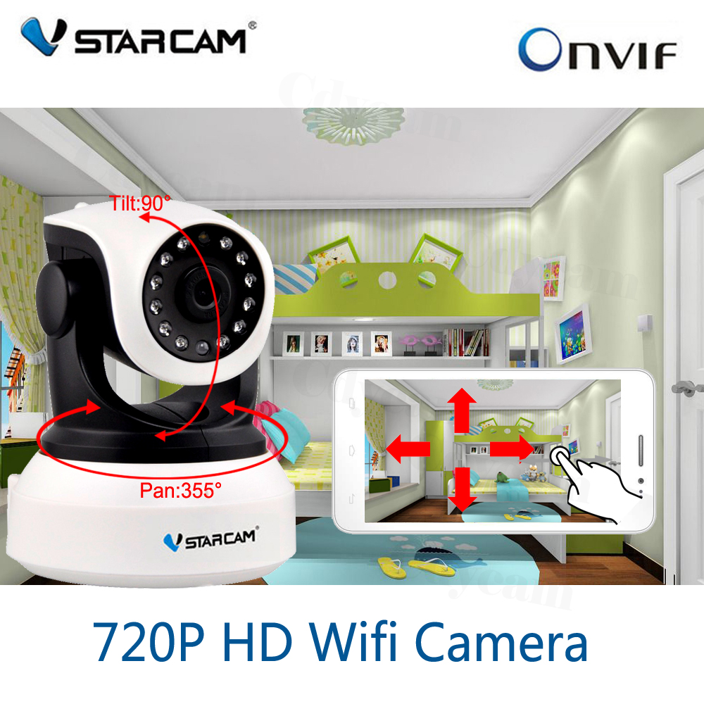 vstarcam wifi ip camera 720p hd wireless camera cctv onvif video surveillance security cctv. Black Bedroom Furniture Sets. Home Design Ideas