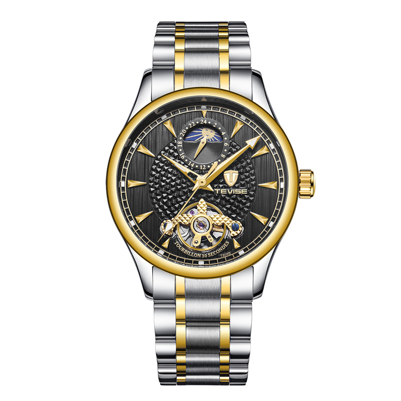 TEVISE Men Automatic Mechanical Wristwatches Fashion Casual Business Watch For Male Waterproof Clocks Gifts Relogio MasculinoTEVISE Men Automatic Mechanical Wristwatches Fashion Casual Business Watch For Male Waterproof Clocks Gifts Relogio Masculino