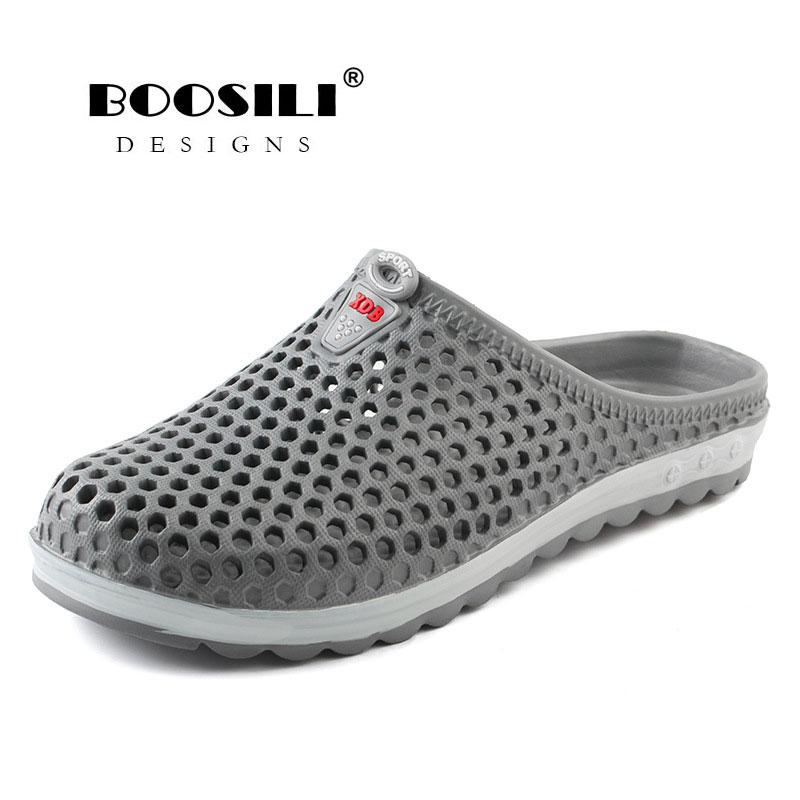 Men Sandals Limited Erkek Ayakkabi 2019 New Male Eva Cave Shoes Men's Clogs Slipper High Quality Breathable Lightweight