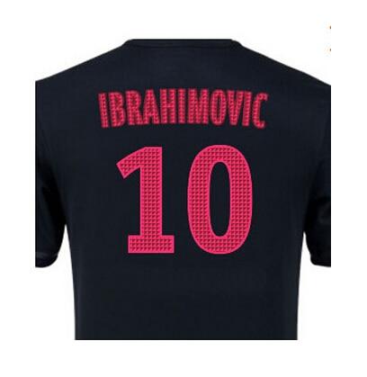 low cost 5030d af7cf wholesale nike paris saint germain ibrahimovic 10 soccer ...