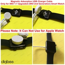 New iWO 1 1 Upgraded USB Charger Cable for iWO 2nd Generation Smart Watch Charging Cable