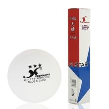 Оригинальные XuShaoFa 40+ поли 3 звезды мячи для настольного тенниса XSF бесшовные Новые Материал белые мячи для пинг-понга ITTF одобрено