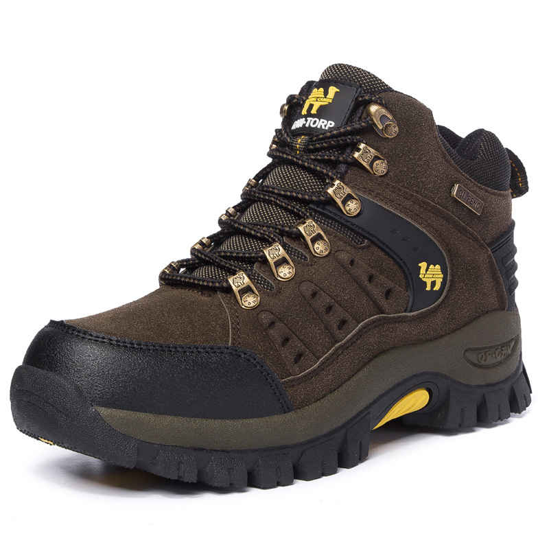 Outdoor Shoes Men Sneakers Women Military Camping Tactical Boot High Top Climbing Shoes Trekking Boots Hiking Shoes Men Sneakers tba genuine leather hiking shoes for women men lovers outdoor sport shoes man brand high top ankle boots women s men s sneakers