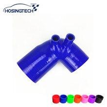 """HOSINGTECH-для BMW E36 325 328 M3 3,"""" HFM S52 M52 M50TU силиконовый воздухозаборник шланг трубы резиновые сапоги"""